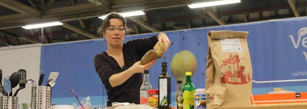 Vegan kookdemo seitan Martine van Haperen