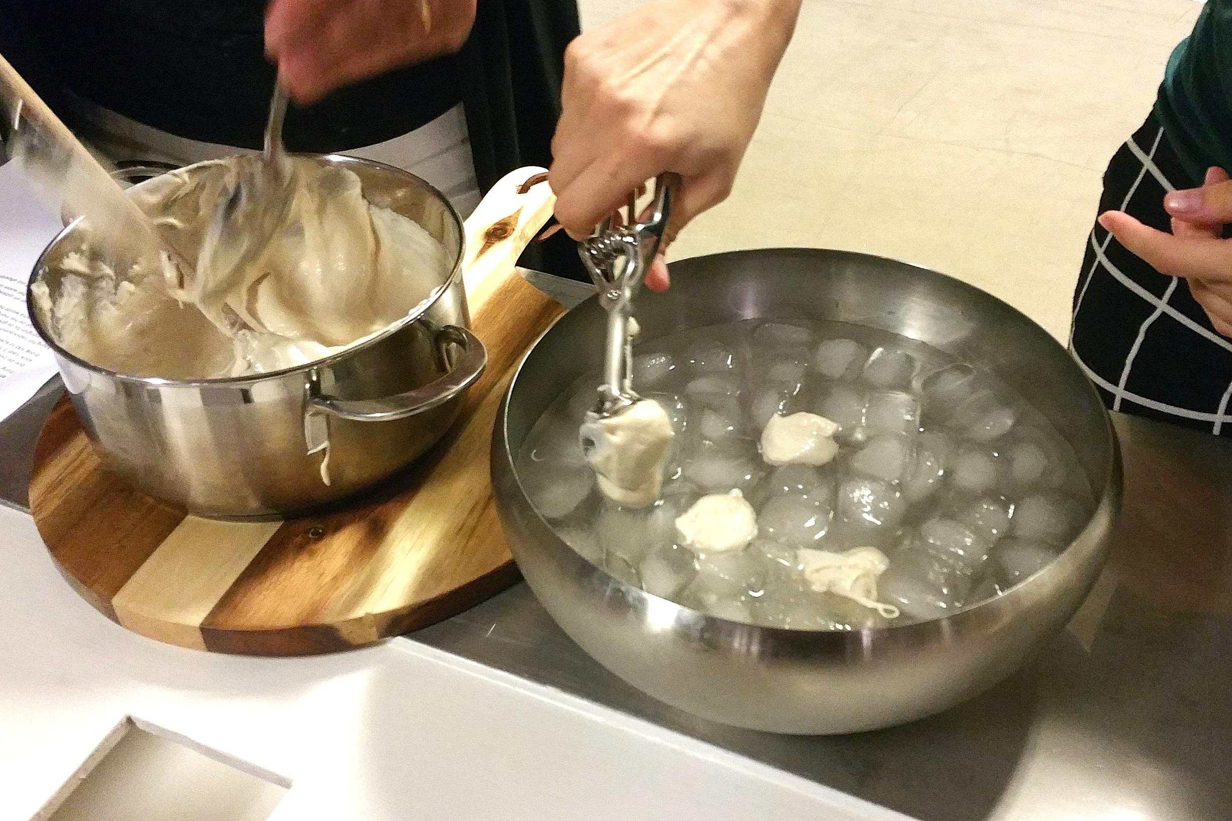 Kookworkshop vegan kaas maken