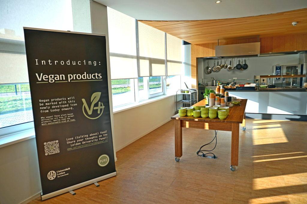 Plantaardige catering Universiteit Leiden vegan advies