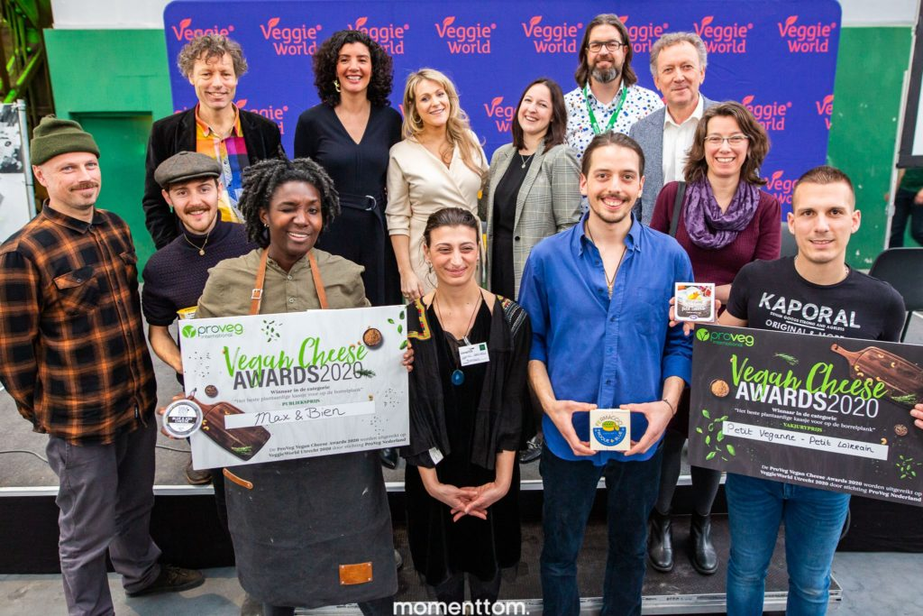 Vegan cheese awards 2020 jury